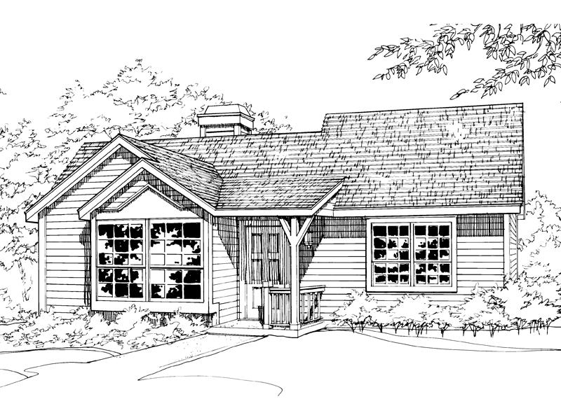 Small, Yet Cozy Ranch Design
