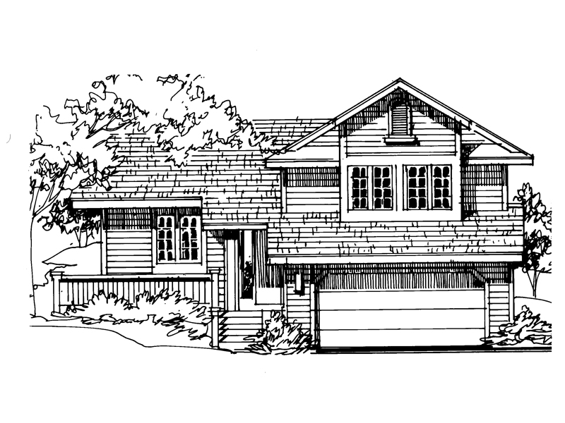 Narrow Lot Home Fit For Country Living