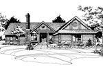 Spacious Traditional Design Has Rustic Style