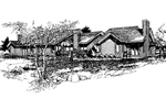 Spacious Four-Plex Offers Ranch Designs