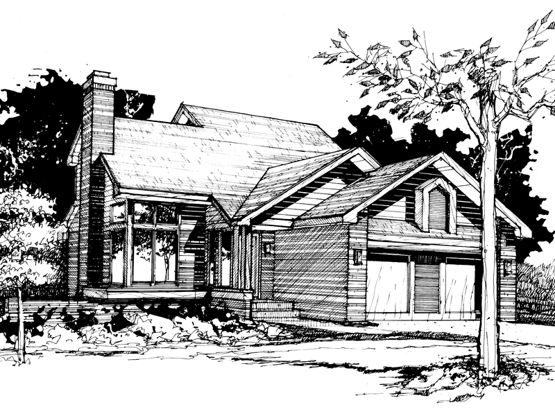 Southern House Plan Front of Home - 072D-0241 | House Plans and More