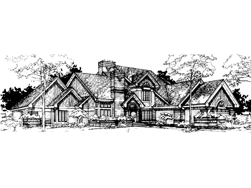 Shingle House Plan Front of Home - 072D-0288 | House Plans and More