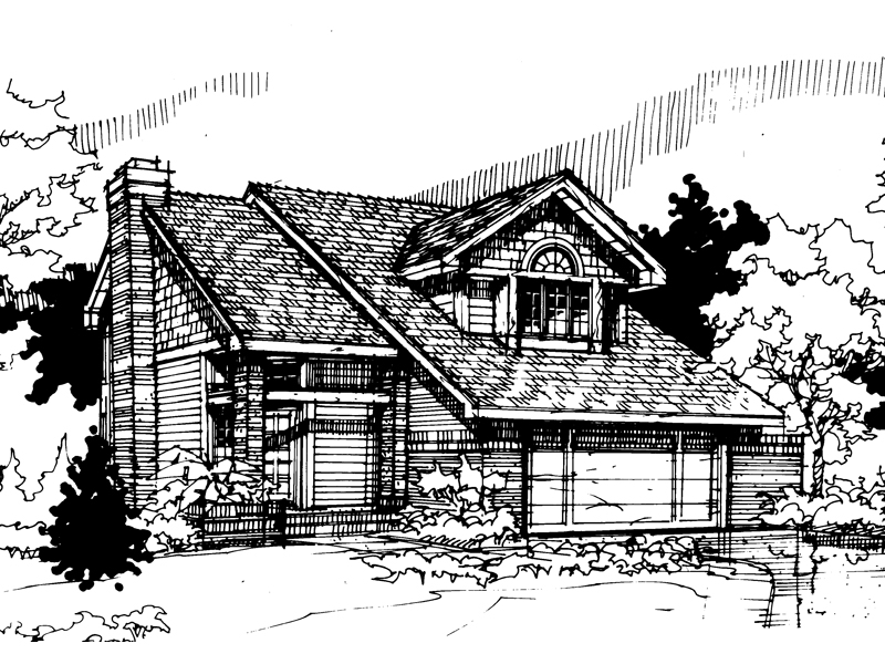 Shingle House Plan Front of Home - 072D-0290 | House Plans and More