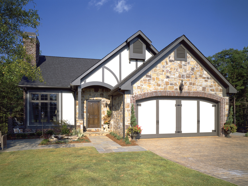 Tudor House Plan Front of Home - 072D-0304 | House Plans and More