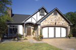 English Tudor House Plan Front of Home - 072D-0304 | House Plans and More