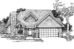 Craftsman House Plan Front of Home - 072D-0311 | House Plans and More