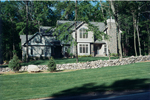 Majestic Manor Home Has Prominent Stone Chimney