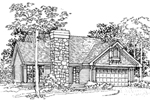 Country House Plan Front of Home - 072D-0328 | House Plans and More