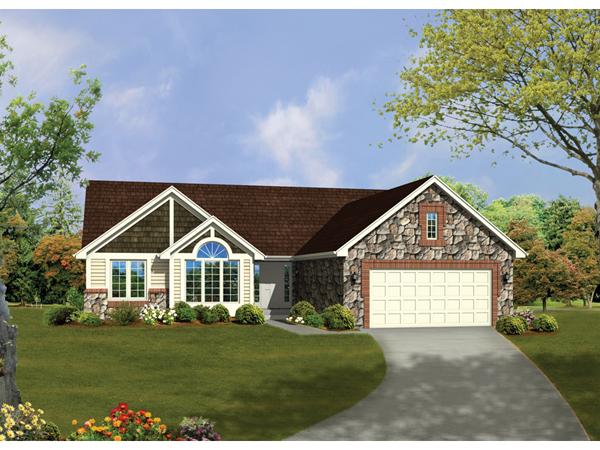 Jordan Creek Rustic Ranch Home Plan 072d 0329 House