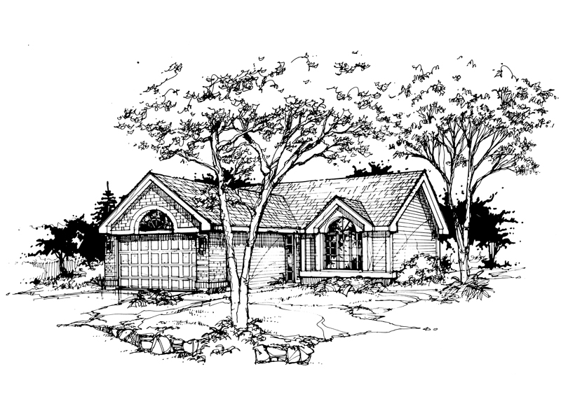 Shingle House Plan Front of Home - 072D-0361 | House Plans and More