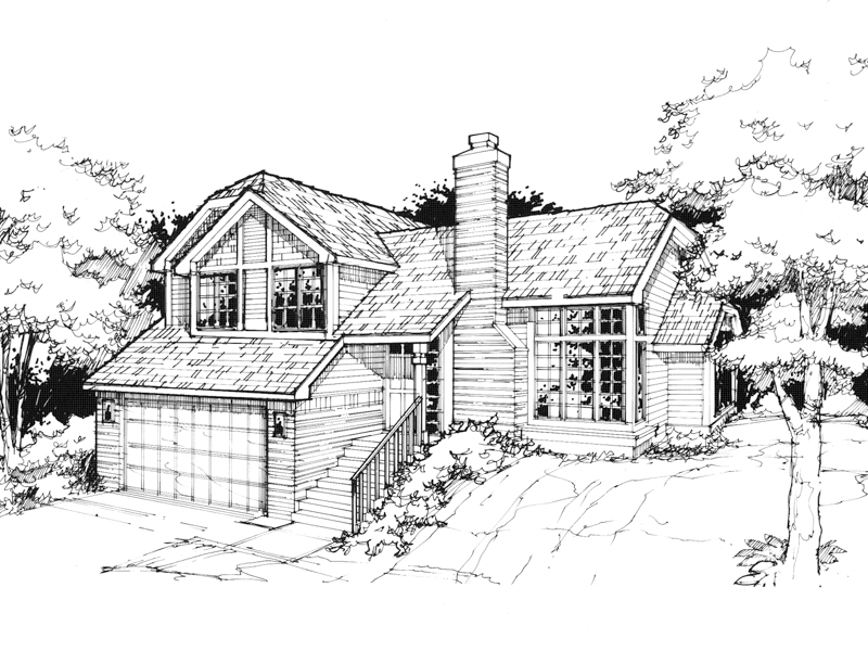 Southern House Plan Front of Home - 072D-0368 | House Plans and More