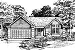 Southern House Plan Front of Home - 072D-0450 | House Plans and More