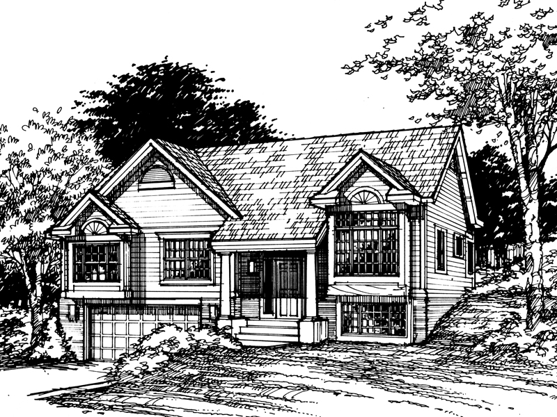 Southern House Plan Front of Home - 072D-0459 | House Plans and More