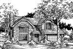 Contemporary House Plan Front of Home - 072D-0462 | House Plans and More