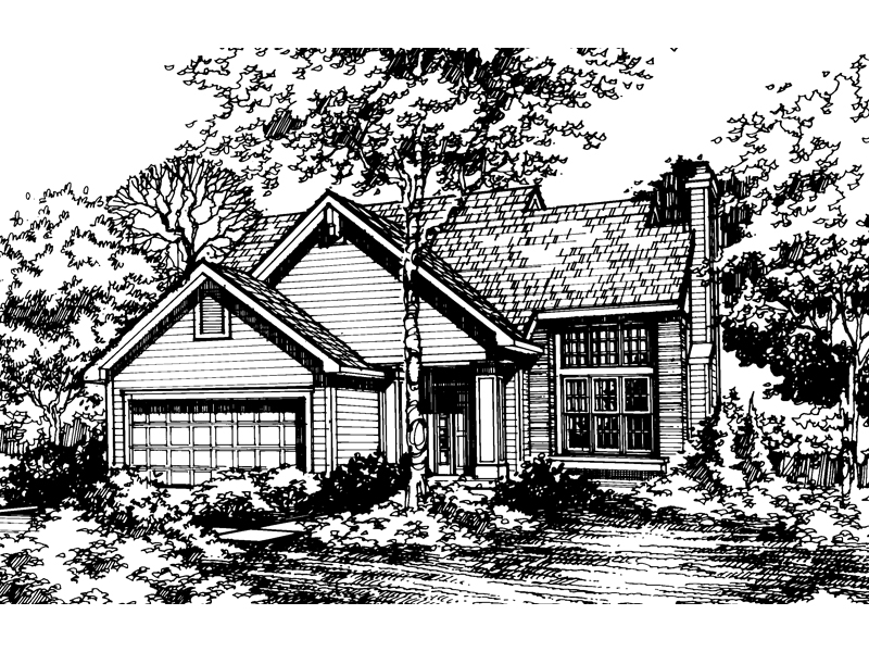 Country House Plan Front of Home - 072D-0471 | House Plans and More