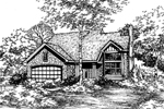 Country House Plan Front of Home - 072D-0472 | House Plans and More