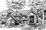 Southern House Plan Front of Home - 072D-0477 | House Plans and More