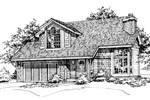 Craftsman House Plan Front of Home - 072D-0478 | House Plans and More