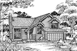 Traditional House Plan Front of Home - 072D-0485 | House Plans and More