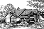 Country House Plan Front of Home - 072D-0491 | House Plans and More