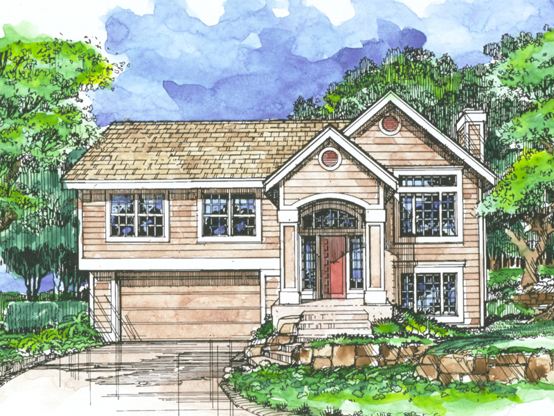 Country House Plan Front of Home - 072D-0502 | House Plans and More