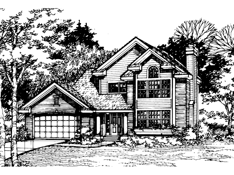 Southern House Plan Front of Home - 072D-0513 | House Plans and More