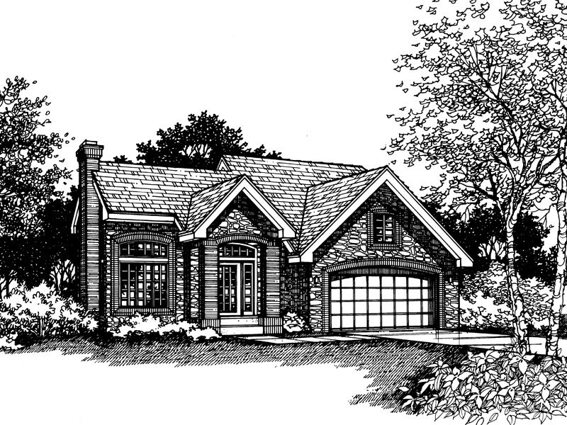 Stone Siding Provides Country Style And Charm