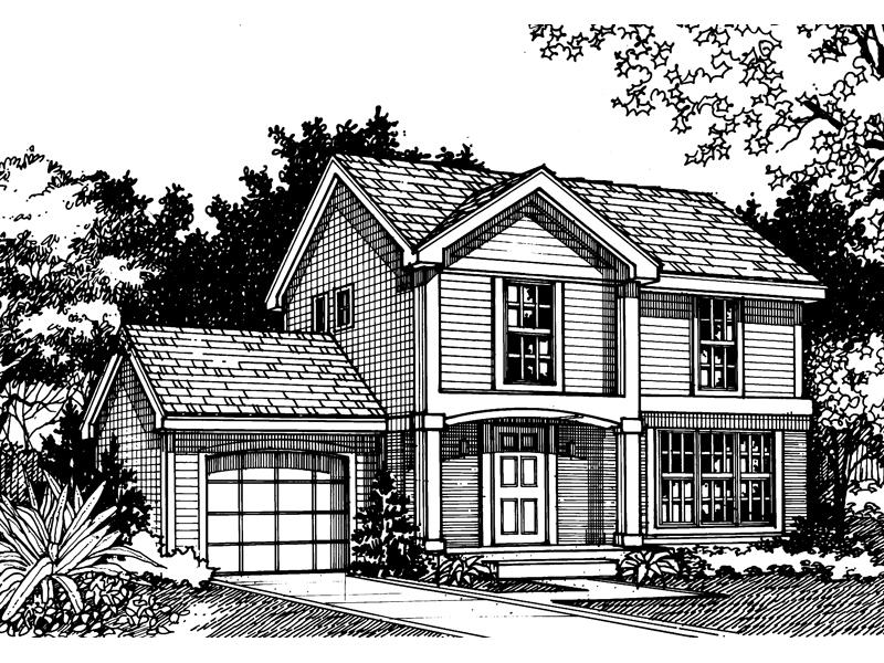 Traditional Home Designed For Family Living