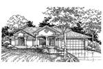 Sunbelt Style Home Emits Elegance
