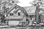 Southern House Plan Front of Home - 072D-0608 | House Plans and More