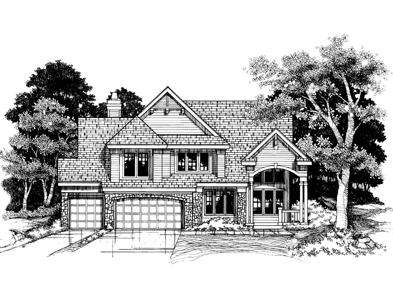 Southern House Plan Front of Home - 072D-0626 | House Plans and More