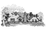 Country House Plan Front of Home - 072D-0658 | House Plans and More