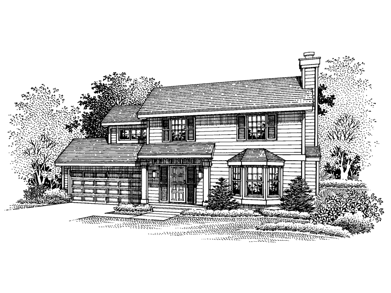 Southern House Plan Front of Home - 072D-0660 | House Plans and More