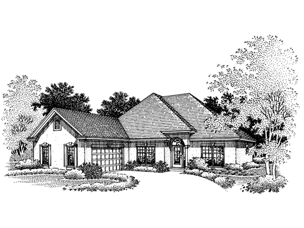 Emory place sunbelt home plan 072d 0672 house plans and more for Sunbelt homes