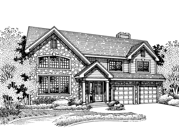 Wellington mill rustic home plan 072d 0678 house plans for Wellington house designs