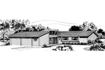 Southern House Plan Front of Home - 072D-0699 | House Plans and More