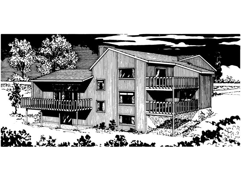 Luxury Mountain Home Offers Three Spacious Decks
