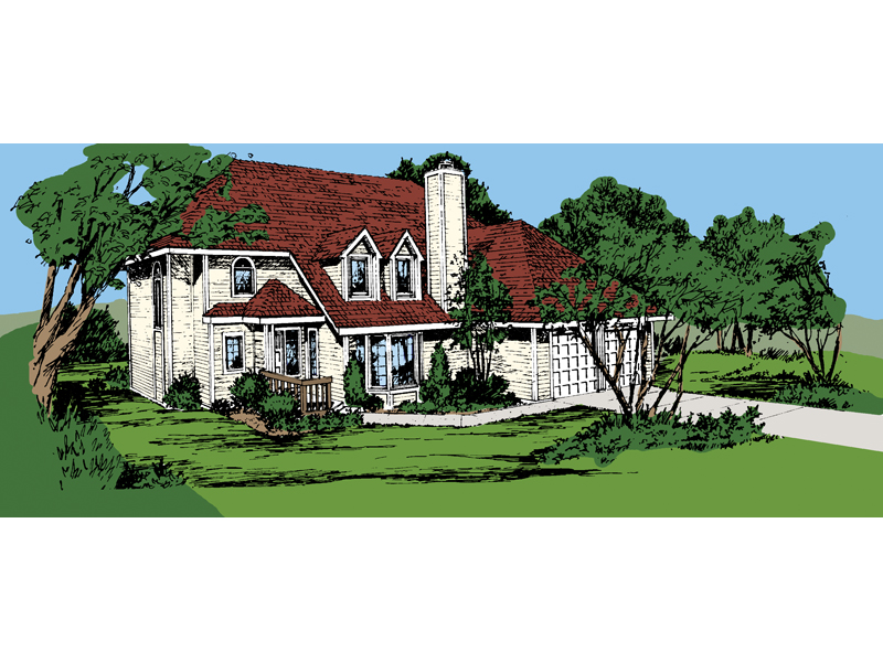 Country House Plan Front of Home - 072D-0718 | House Plans and More