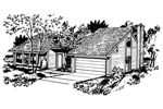 Traditional House Plan Front of Home - 072D-0726 | House Plans and More