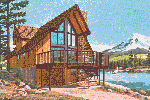 Waterfront Home Plan Front of Home - 072D-0759 | House Plans and More