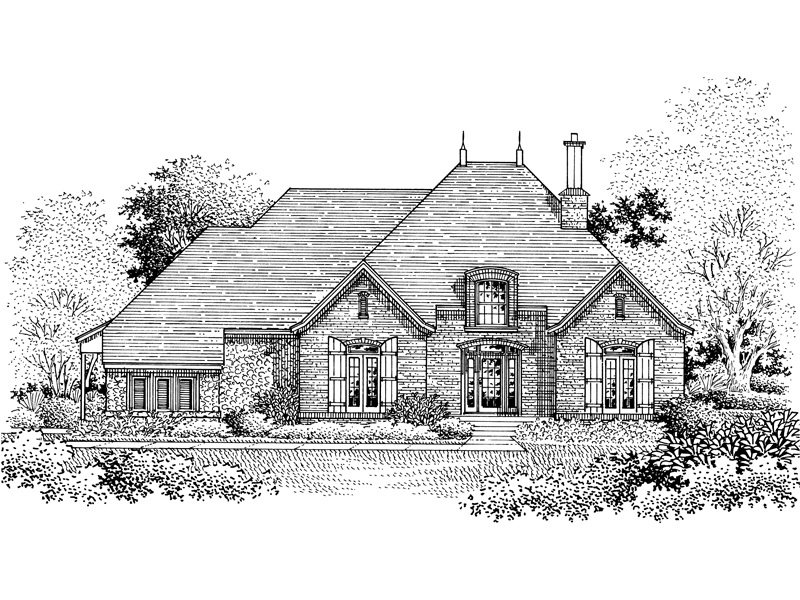 Victorian House Plan Front of Home - 072D-0776 | House Plans and More