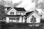 Craftsman House Plan Front of Home - 072D-0780 | House Plans and More