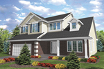 Traditional House Plan Front of Home - 072D-0783 | House Plans and More