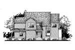 Shingle House Plan Front of Home - 072D-0806 | House Plans and More