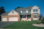 Classic And Traditional Two-Story With Brick And Siding