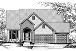 Country House Plan Front of Home - 072D-0844 | House Plans and More