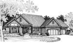 European House Plan Front of Home - 072D-0850 | House Plans and More