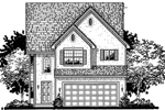 Traditional House Plan Front of Home - 072D-0854 | House Plans and More