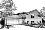 Traditional House Plan Front of Home - 072D-0857 | House Plans and More