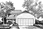 Southern House Plan Front of Home - 072D-0863 | House Plans and More